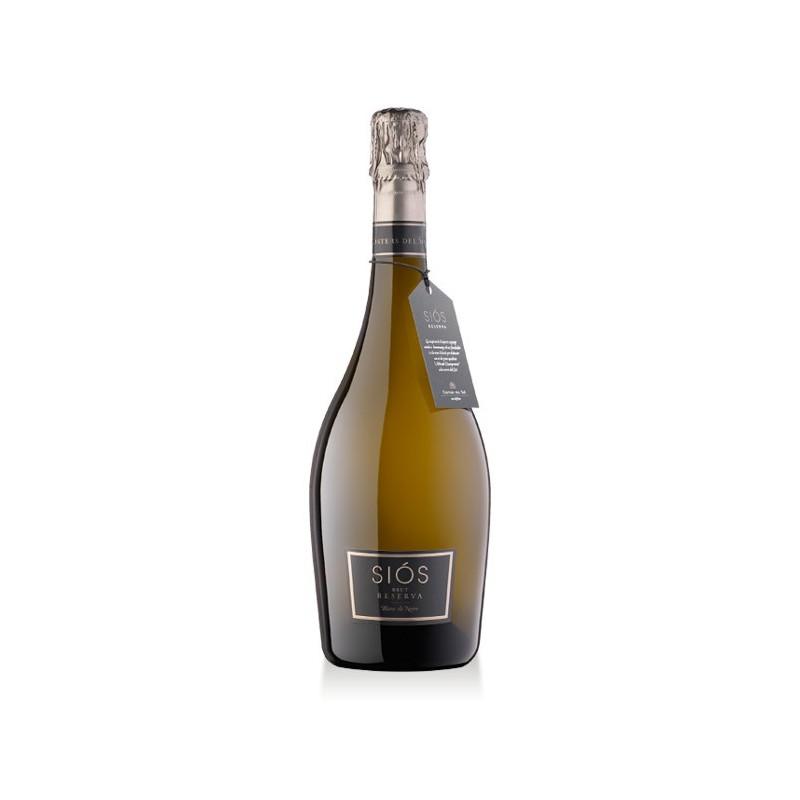 Sparkling Wine Siós Brut Blanc de Noirs bottle