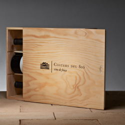 Wooden Wine Gift Box Bellcaire | Costers del Sió Winery