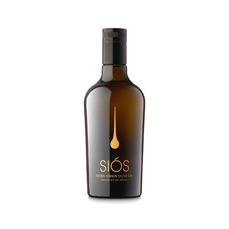 Aceite de Oliva Virgen Extra Siós Prensado en Frío 0.5l Botella Cristal AOVE