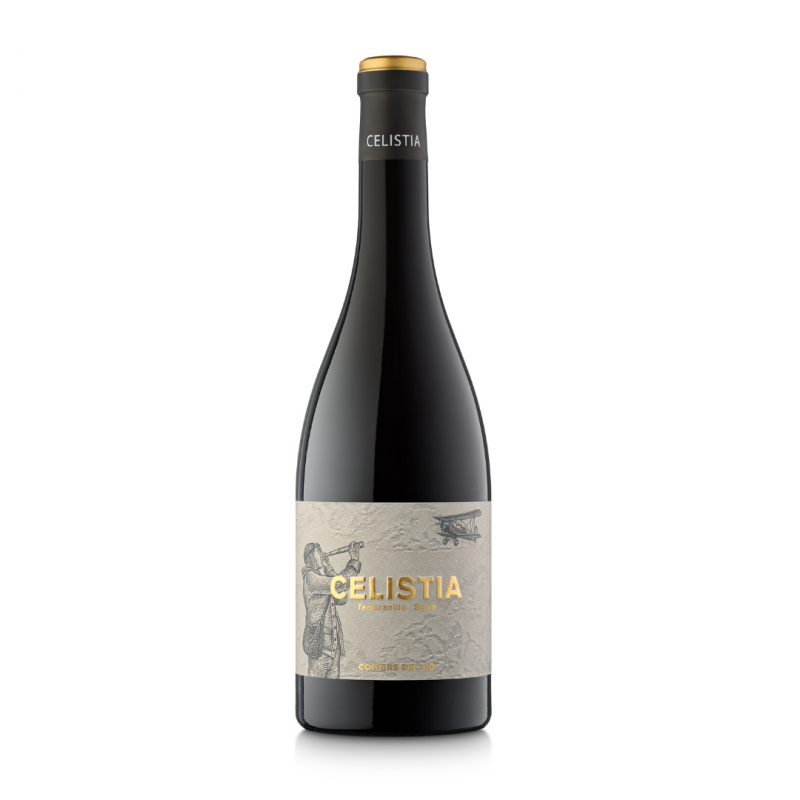Celistia 2018 Red Wine bottle | Costers del Sió Winery