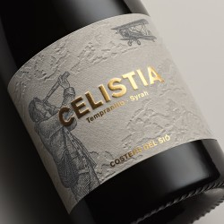 Wine Label Red Wine Celistia 2018