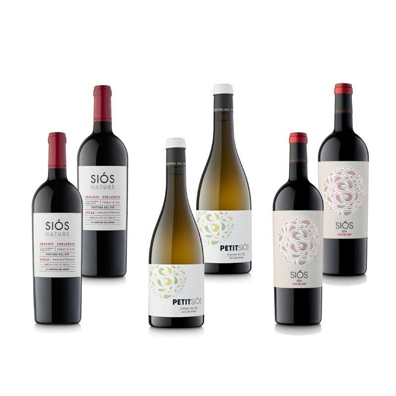 Lote de vinos 6 botellas Desconfinamiento | Bodegas Costers del Sió | DO Costers del Segre