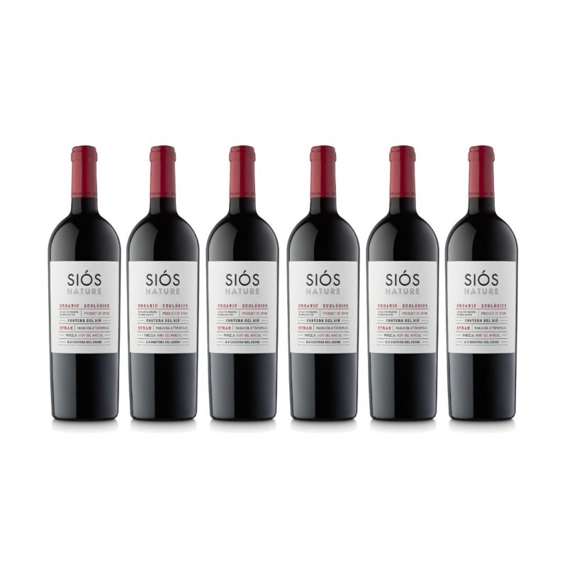 Pack Vino Orgánico Siós Nature  6 botellas | DO Costers del Segre