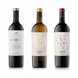 Lot de vins 3 ampolles Montgai | DO Costers del Segre