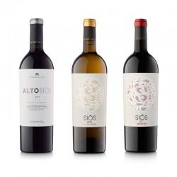Lot de vins 3 ampolles Montgai
