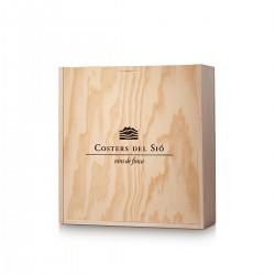 Wooden Gift Box for 3 bottles of wine | Item nr. EF02