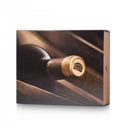 Cardboard case for 2 or 3 bottles of wine