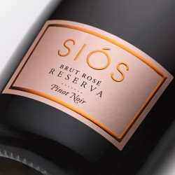 Shop Sparkling Wine Siós Brut Rosé 2014 Bottle