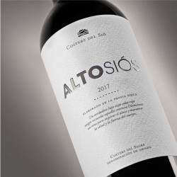 Wine gift box | Red Wine Alto Siós 2017 Label | Costers del Sió Winery