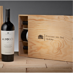 Alto Siós Magnum in wooden box 3 bottles