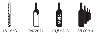 Vino tinto Celistia 2020 | Bodegas Costers del Sió